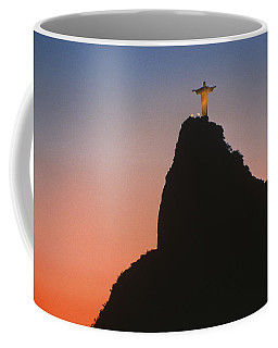 View Of Christ The Redeemer  Coffee Mug