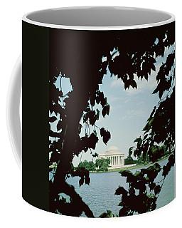 View Of The Jefferson Memorial Coffee Mug