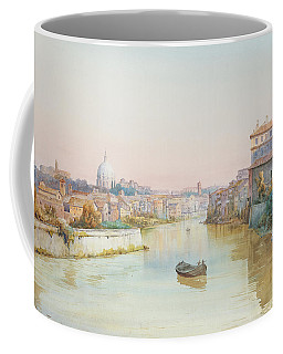 View Of The Tevere From The Ponte Sisto  Coffee Mug