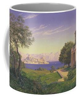 Villa Overlooking Capri  Coffee Mug