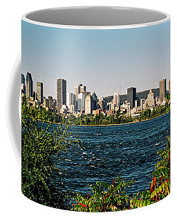Coffee Mug featuring the photograph Ville De Montreal by Juergen Weiss