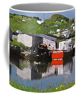 Coffee Mug featuring the photograph Villiage by Lydia Holly