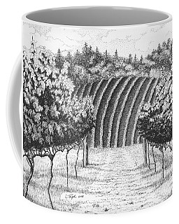 Vineyard Coffee Mug by Lawrence Tripoli