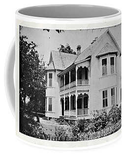 Vintage Victorian House Coffee Mug