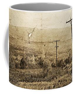 Vintage View Of Ontario Fields Coffee Mug