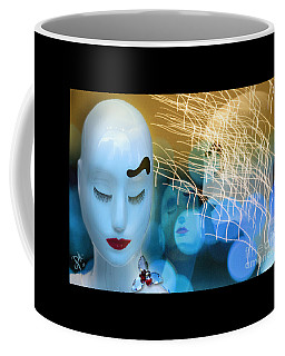 Virginal Shyness Coffee Mug by Rosa Cobos
