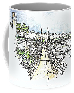 Wadi Crossing Coffee Mug