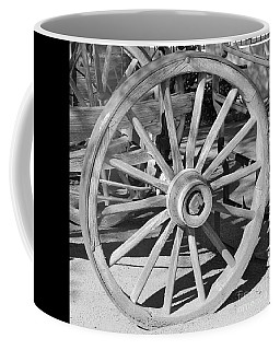 Wagon Wheel Coffee Mug by Pamela Walrath
