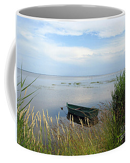 Coffee Mug featuring the photograph Waiting For The Nightshift by Ausra Huntington nee Paulauskaite