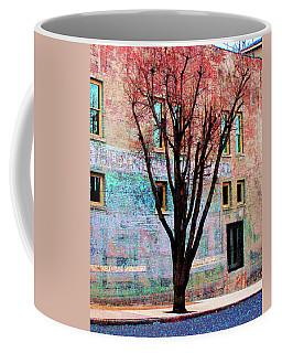 Coffee Mug featuring the photograph Wall Wth Secrets by Lizi Beard-Ward