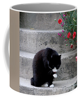 Coffee Mug featuring the photograph Washing Up by Lainie Wrightson