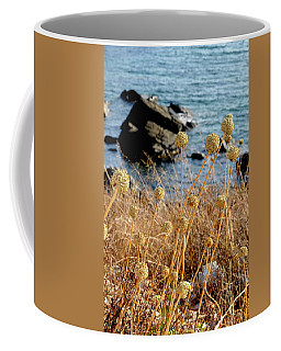 Coffee Mug featuring the photograph Watching The Sea 2 by Pedro Cardona