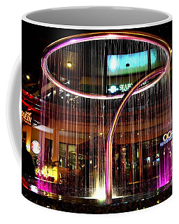 Water Fountain With Circle Seven Shape Coffee Mug