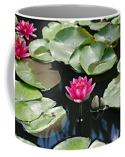 Coffee Mug featuring the photograph Water Lilies by Jennifer Ancker