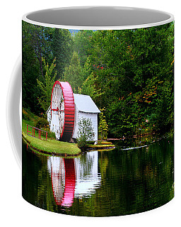 Coffee Mug featuring the photograph Water Mill by Adrian LaRoque