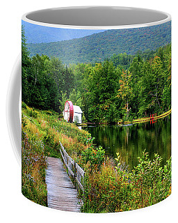 Coffee Mug featuring the photograph Water Mill II by Adrian LaRoque