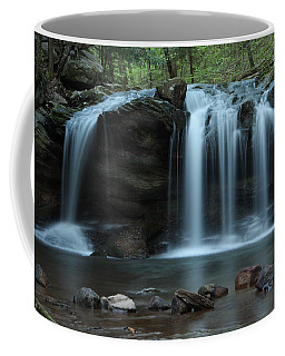 Waterfall On Flat Fork Coffee Mug