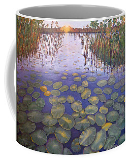 Waterlillies South Africa Coffee Mug