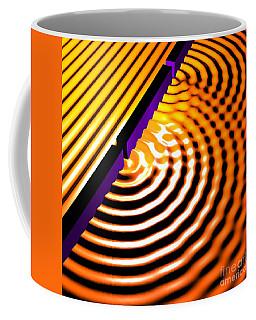 Waves Two Slit 2 Coffee Mug