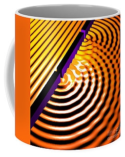 Waves Two Slit 2 Coffee Mug