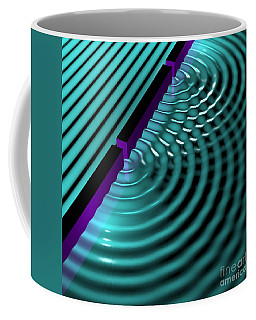 Waves Two Slit 3 Coffee Mug