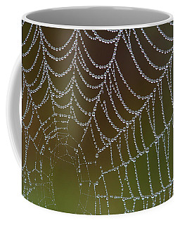 Web With Dew Coffee Mug