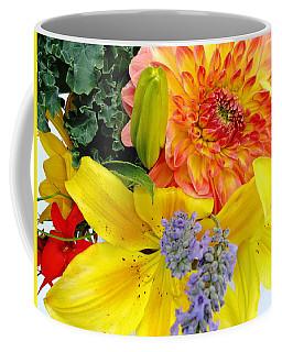Wedding Flowers Coffee Mug by Rory Sagner