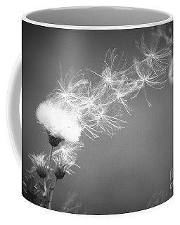Coffee Mug featuring the photograph Weed In The Wind by Deniece Platt