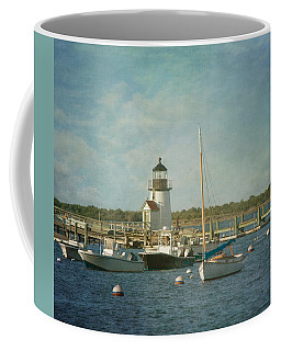 Coffee Mug featuring the photograph Welcome To Nantucket by Kim Hojnacki