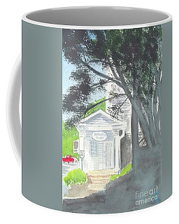 Coffee Mug featuring the painting Wellers Carriage House 1 by Yoshiko Mishina