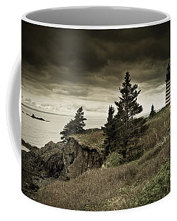Coffee Mug featuring the photograph West Quoddy Head Lighthouse by Alana Ranney