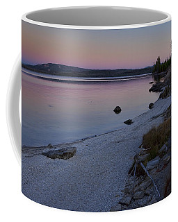 West Thumb Sunset Coffee Mug