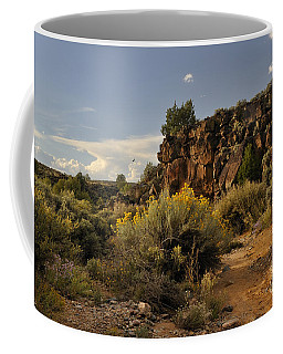 Coffee Mug featuring the photograph Westward Across The Mesa by Ron Cline