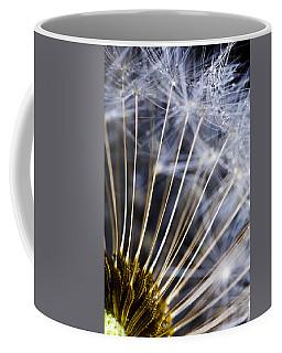 Wet Dandelion Seeds Forest Coffee Mug