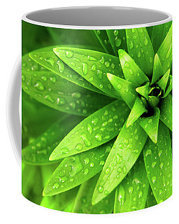 Wet Foliage Coffee Mug