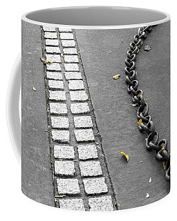 Coffee Mug featuring the photograph Where It Goes by Fran Riley