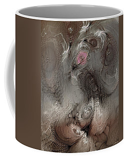 Coffee Mug featuring the digital art Whims Within by Casey Kotas
