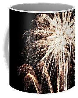 White Explosion Coffee Mug