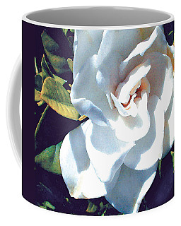 White Gardenia Coffee Mug