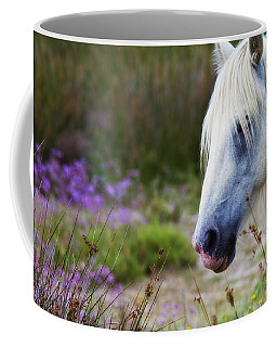 White Horse Coffee Mug
