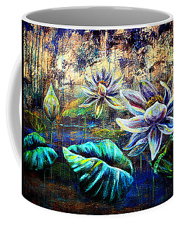White Lotus Coffee Mug