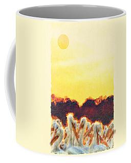 Coffee Mug featuring the photograph White Pelicans In Sun by Dan Friend