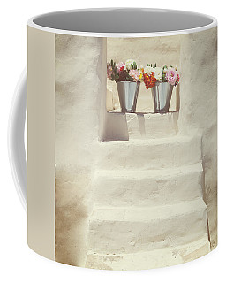White Steps Coffee Mug