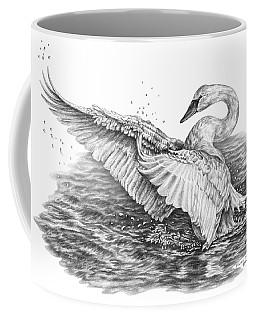 White Swan - Dreams Take Flight Coffee Mug
