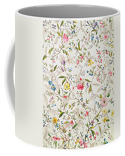 Wild Flowers Design For Silk Material Coffee Mug
