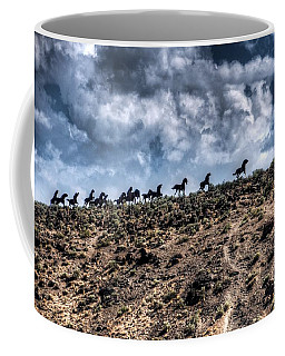 Wild Horses Monument Coffee Mug
