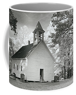 Coffee Mug featuring the photograph Wildwood Church by Mary Almond