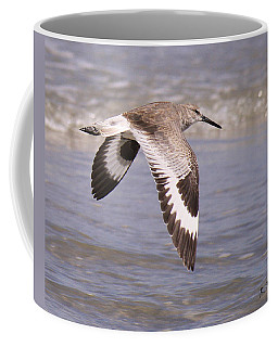 Willet In Flight Coffee Mug