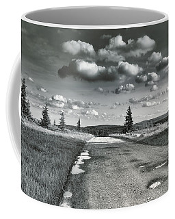 Coffee Mug featuring the photograph Winding Road by Mary Almond
