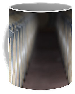Wine Barrels In Line Coffee Mug